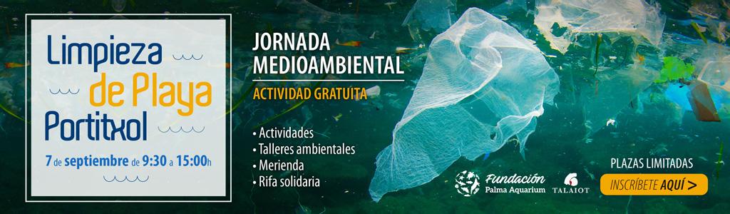 Jornada de sensibilización ambiental y limpieza de litoral