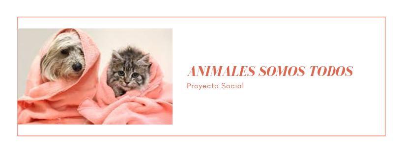 """Proyecto social """"Animales somos TODOS"""""""